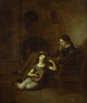 Friedrich August Moritz Retzsch: Wilhelm Meister und Mignon