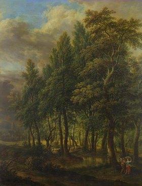 Christian Georg Schütz d.Ä.: Waldlandschaft