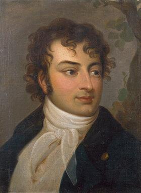 Johann Heinrich Wilhelm Tischbein: August Wilhelm Schlegel (1767-1845). 1793 - johann-heinrich-wilhelm-tischbein-august-wilhelm-schlegel-1767-1845-1793
