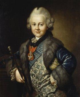 Johann Ernst Heinsius: Carl August Erbprinz von Sachsen-Weimar-Eisenach