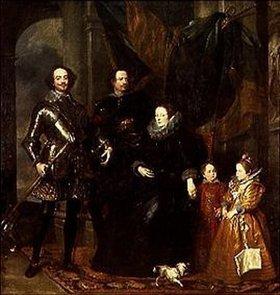 Anthonis van Dyck: Bildnis der Familie Lomellini