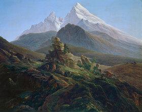 Caspar David Friedrich: Der Watzmann