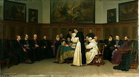 Wilhelm Ludwig F Riefstahl: Sitzung des ersten vatikanischen Konzils