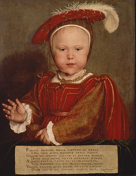 Hans Holbein d.J.: Edward, Prince of Wales, späterer Edward VI. von England