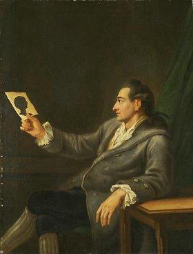 Johann Ehrenfried Schumann: Johann Wolfgang Goethe. 1778 (Kopie nach Georg M. Kraus)