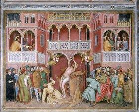 Altichiero da Zevio (Aldighiero): Die Enthauptung des heiligen Georg