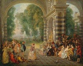 Jean Antoine Watteau: Die Freuden des Balles