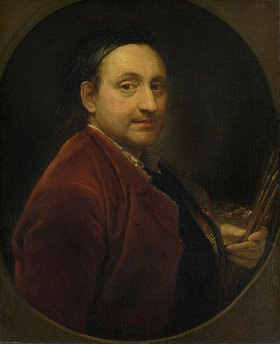 Pompeo Girolamo Batoni: Selbstbildnis