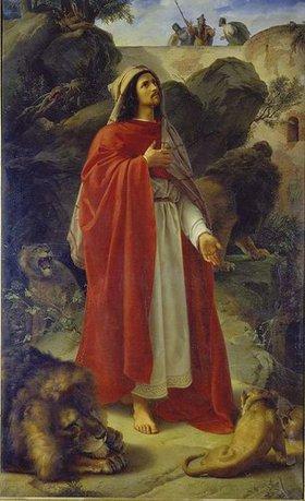 Alfred Rethel: Daniel in der Löwengrube
