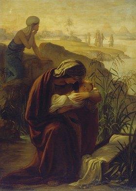 Philipp Veit: Die Aussetzung des Moses