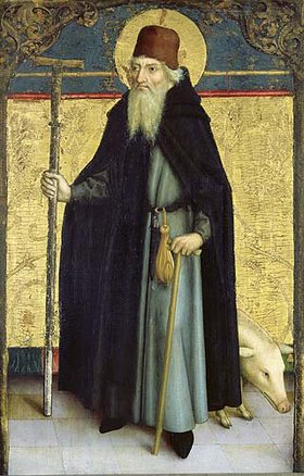 Bartholomeus Zeitblom: Heiliger Antonius