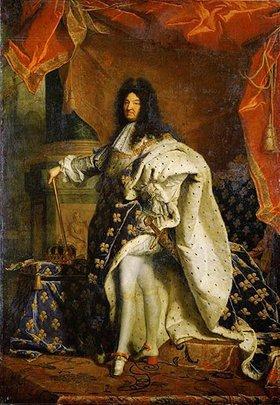 Hyacinthe Rigaud: Ludwig XIV., König von Frankreich