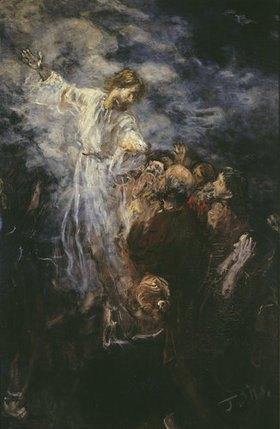 Fritz von Uhde: Himmelfahrt Christi (Skizze)