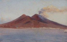 Carl Blechen: Der Vesuv