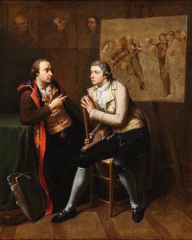 Johann Heinrich Wilhelm Tischbein: Einer den anderen gemalt