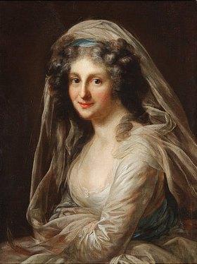 Anton Graff: Anna Marie Jacobine Körner, geb. Stock