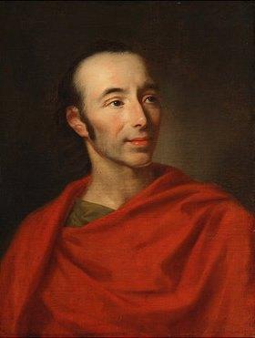Johann Fr. August Tischbein: Johann Heinrich Voss der Ältere. 1810. - johann-fr-august-tischbein-johann-heinrich-voss-der-altere-1810