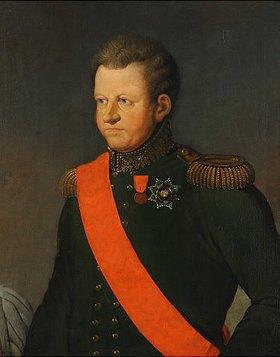 Ferdinand Jagemann: Carl August Großherzog von Sachsen-Weimar-Eisenach
