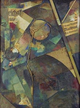 Kurt Schwitters: Merzbild 25 A. Das Sternenbild