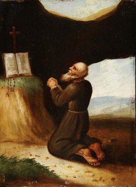 Johann Andreas Benjamin Nothnagel: Einsiedler im Gebet