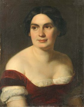 Carl Rahl: Christine Hebbel, geb. Enghaus