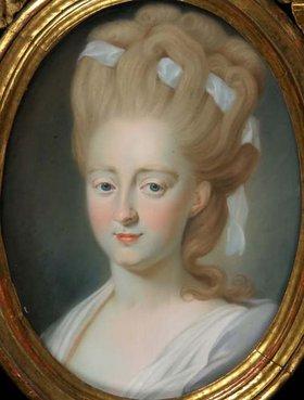 Unbekannter Künstler: Charlotte von Kalb, geb. Marschalk von Ostheim