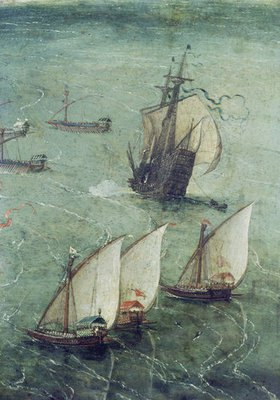 Jan Brueghel d.Ä.: Schlacht vor den Toren Neapels