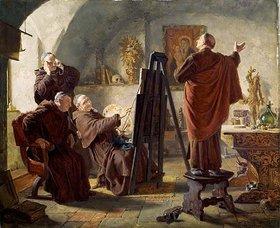 Eduard Grützner: Im Klosteratelier