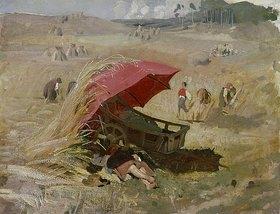 Franz von Lenbach: Der rote Schirm