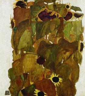 Egon Schiele: Sonnenblumen