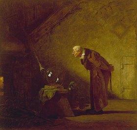 Carl Spitzweg: Der Alchimist. Um 1855/60