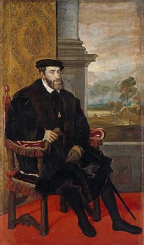 Tizian (Tiziano Vecellio): Kaiser Karl V