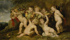Peter Paul Rubens: Der Früchtekranz. (Zusammen mit Frans Snyders)