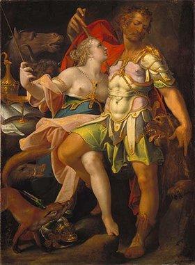Bartholomäus Spranger: Odysseus und Kirke