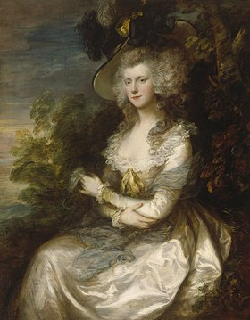 Thomas Gainsborough: Bildnis Mrs.Thomas Hibbert