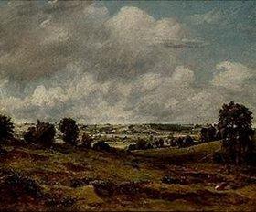 John Constable: Dedham Vale von East Bergholt aus gesehen