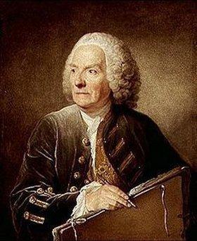 Jean Baptiste Greuze: Bildnis des Louis de Silvestre, Direktor der Academie Royale