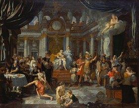 Gerard de Lairesse: Aeneas beim Festmahl der Dido
