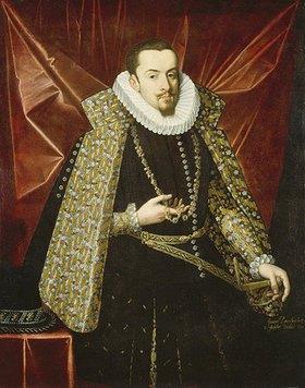 Juan Pantoja de la Cruz: Albrecht der Fromme, Erzherzog von Österreich