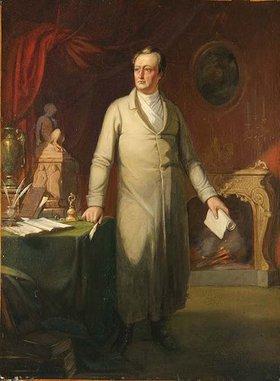 Ary Scheffer: Johann Wolfgang von Goethe. Wohl nach
