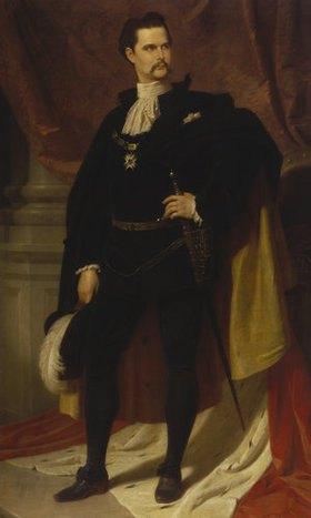 Ferdinand Piloty d.J.: Ludwig II. von Bayern als Hubertusritter