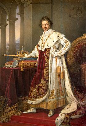 Joseph Karl Stieler: Ludwig I. von Bayern im Krönungsornat