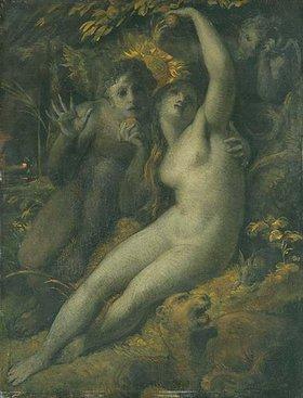 Johann Heinrich Füssli: The Fall (Adam und Eva)