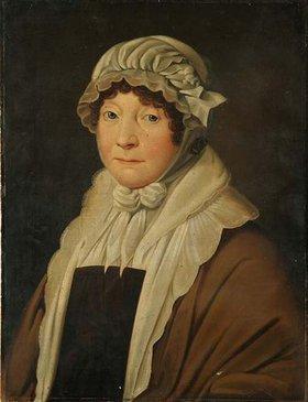 Unbekannter Künstler: Juliane Cronrath, geb. Knoth. Wohl