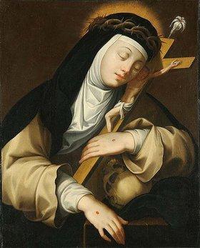 Unbekannter Künstler: Hl. Katharina von Siena
