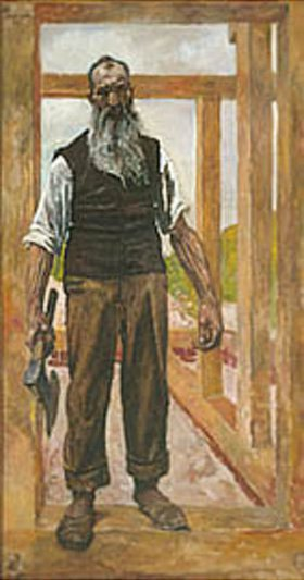 Karl Becker-Gundahl: Ein Zimmermann