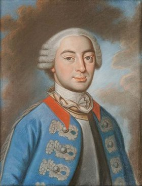 Unbekannter Künstler: Louis Giulleaume Baron de Roussillon. Spätere Kopie n. Vorlage 2. Hälfte 18. Jh
