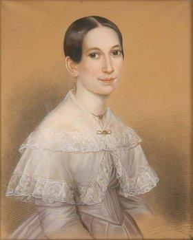 Unbekannter Künstler: Irene Bretschneider, geb. Coudray. Vor