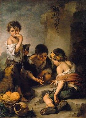 Bartolomé Estéban Murillo: Buben beim Würfelspiel