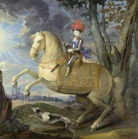 Deutsch: Maximilian III. als Knabe